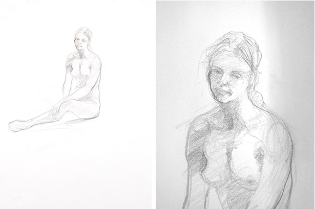 SEATED WOMAN, Study