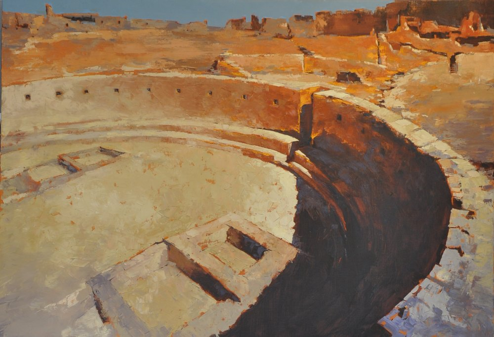 GRAND KIVA CHACO CANYON