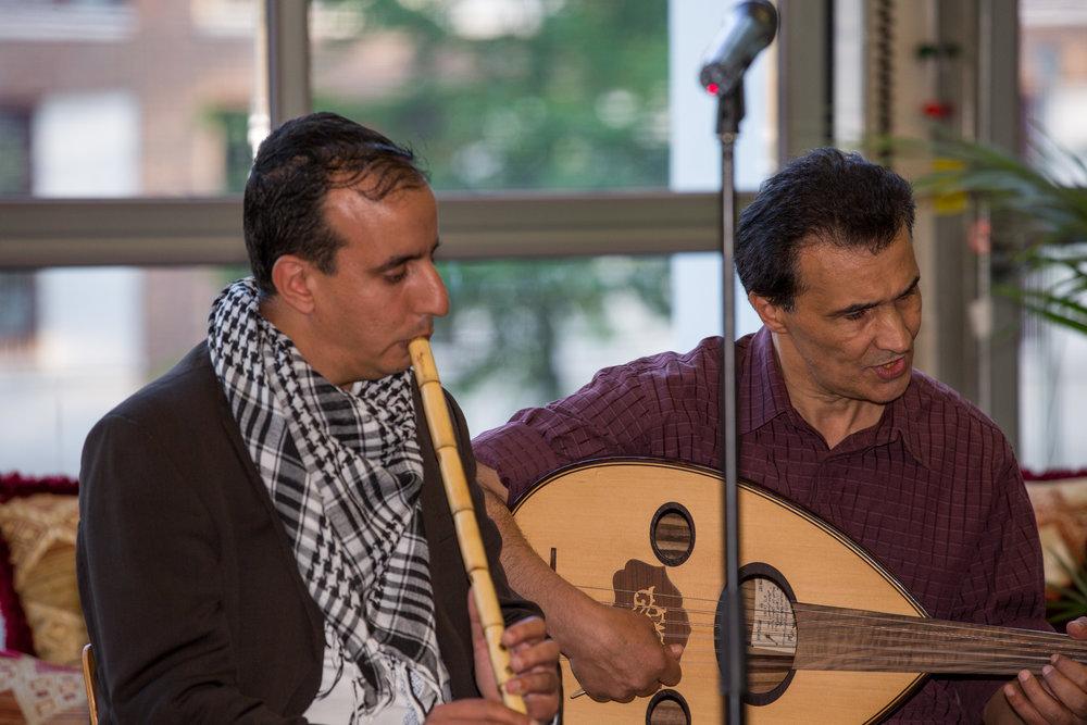 Hamed Alshaabi en Mouafak Al Jamal