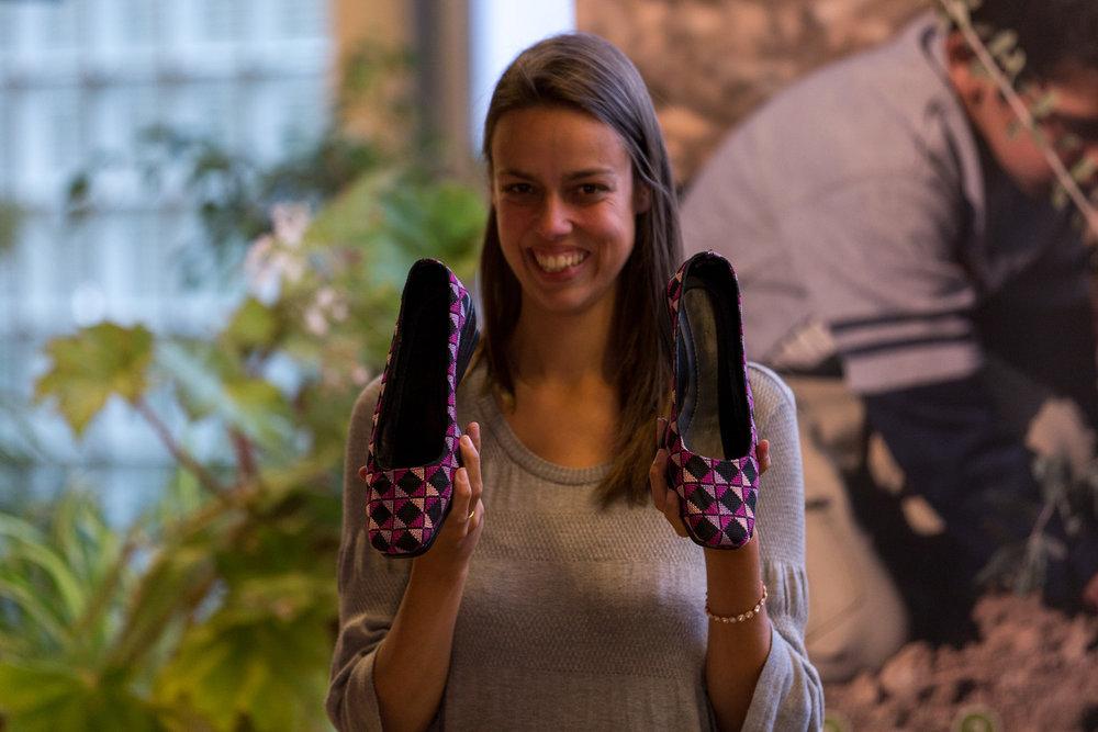 Unieke schoenen uit Gaza, een prototype van Disarming Design