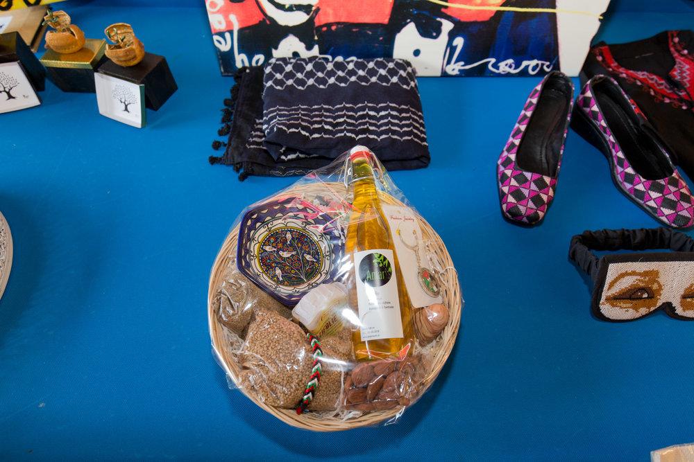 Ook populair tijdens de veiling, een fijn mandje vol ProPal producten