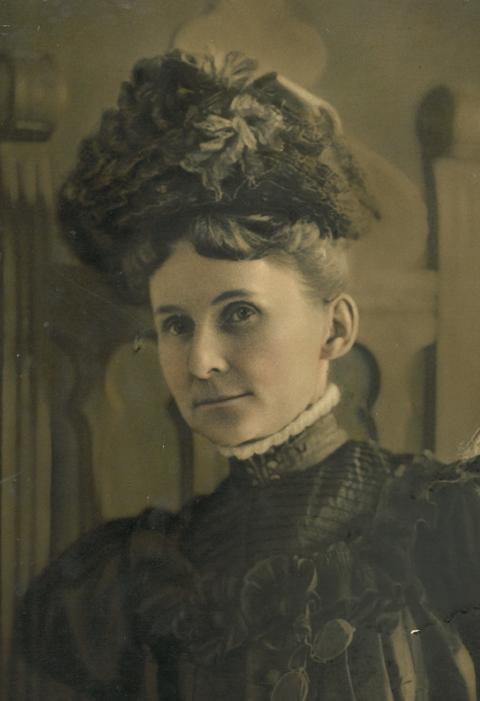 """Mrs. Sarah Montgomery Ruffner """"Sally"""" Campell"""