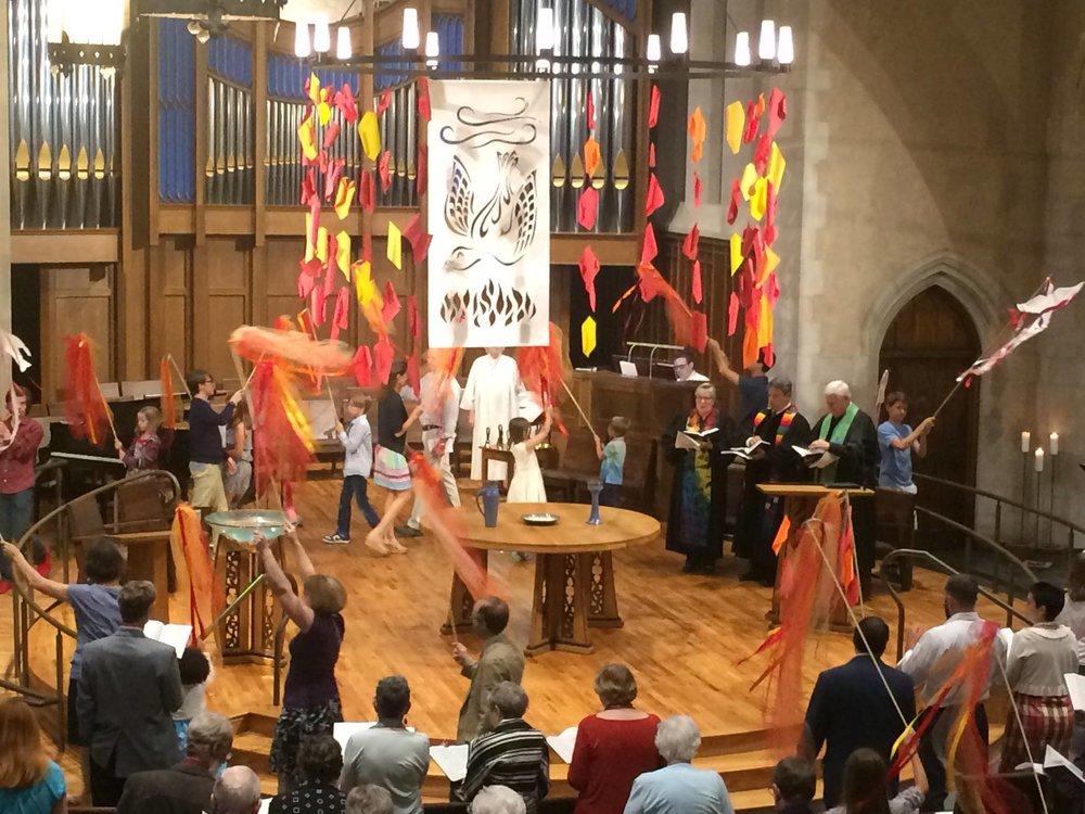 Day of Pentecost Worship 2016