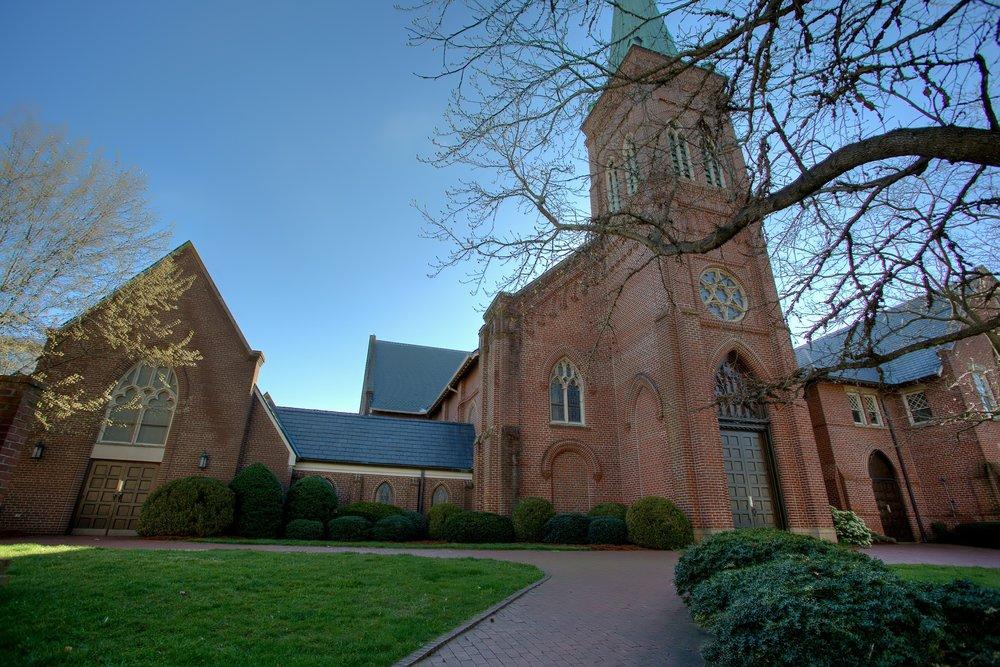 Chapel & Sanctuary (Open Sunday mornings)