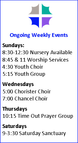 Ongoing Weekly Events. calendar.png