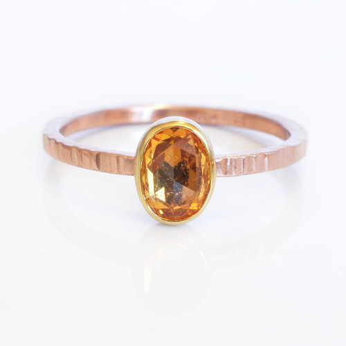 Orange Sapphire Ring Rsg0049 Ec Design