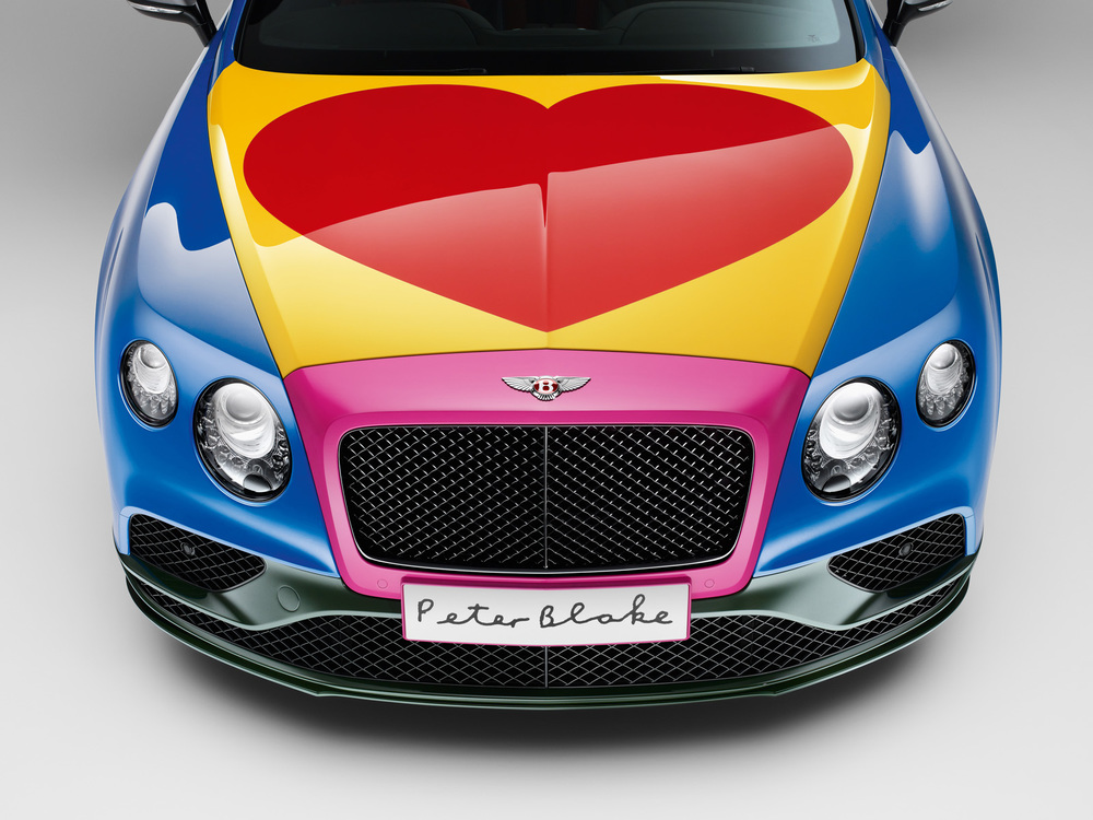 Sir Peter Blake Pop Art Bentley set to raise thousands for Charity (1).jpg