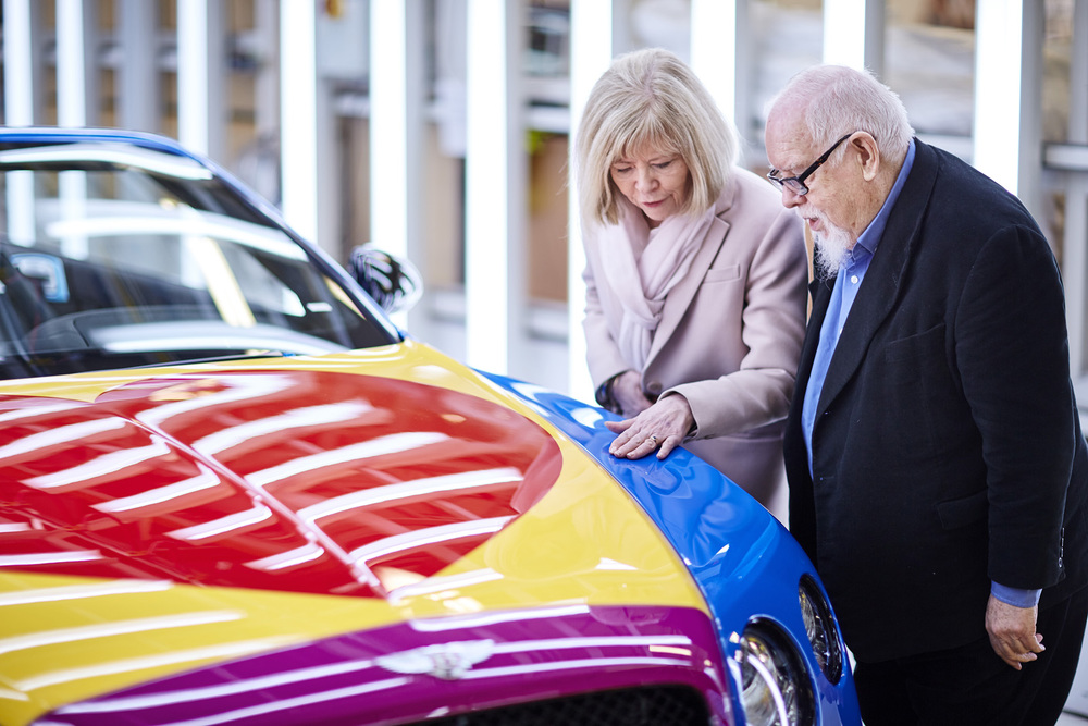 Sir Peter Blake Pop Art Bentley set to raise thousands for Charity (2).jpg