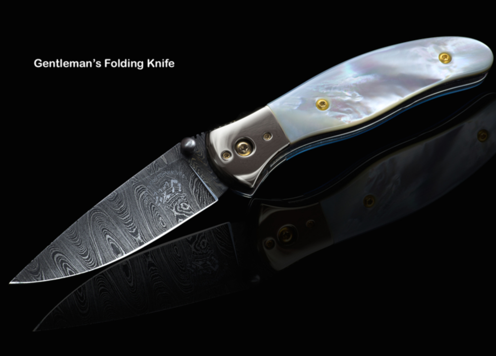 Jay Higgins - Heirloom quality knives born from billets of steel; brass, silver & copper bars & rods; handles from blocks of woods, fossils, and stone. Blades and handles are hand sculpted using a belt sander.