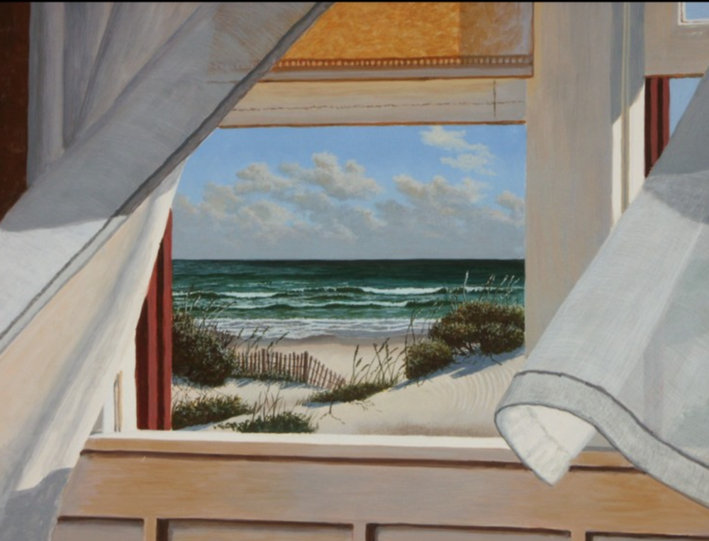 Brian Keller - http://www.btkeller.comHand made egg tempera paint applied to gesso primed panel.