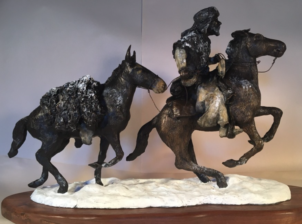 Ron Emig - Limited edition original bronze sculptures and one of a kind fired clay sculptures in the western and wildlife genre.