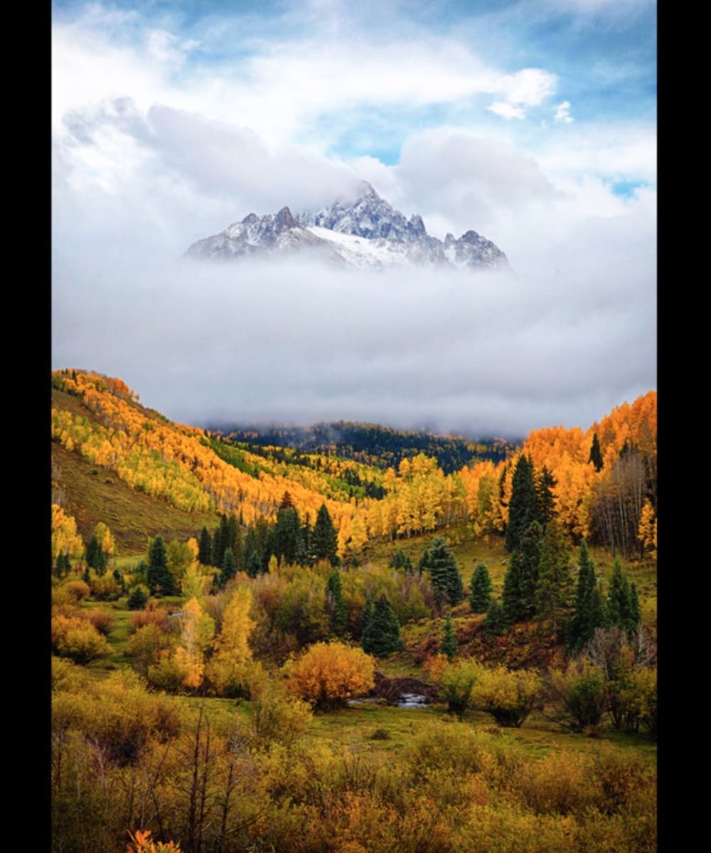 Dan & Steve Sawusch - http://www.USScenics.comAfter researching & scouting, we revisit a location until the desired weather & light conditions occur. Images are processed & printed on various substrates then placed in a frame that complements it.