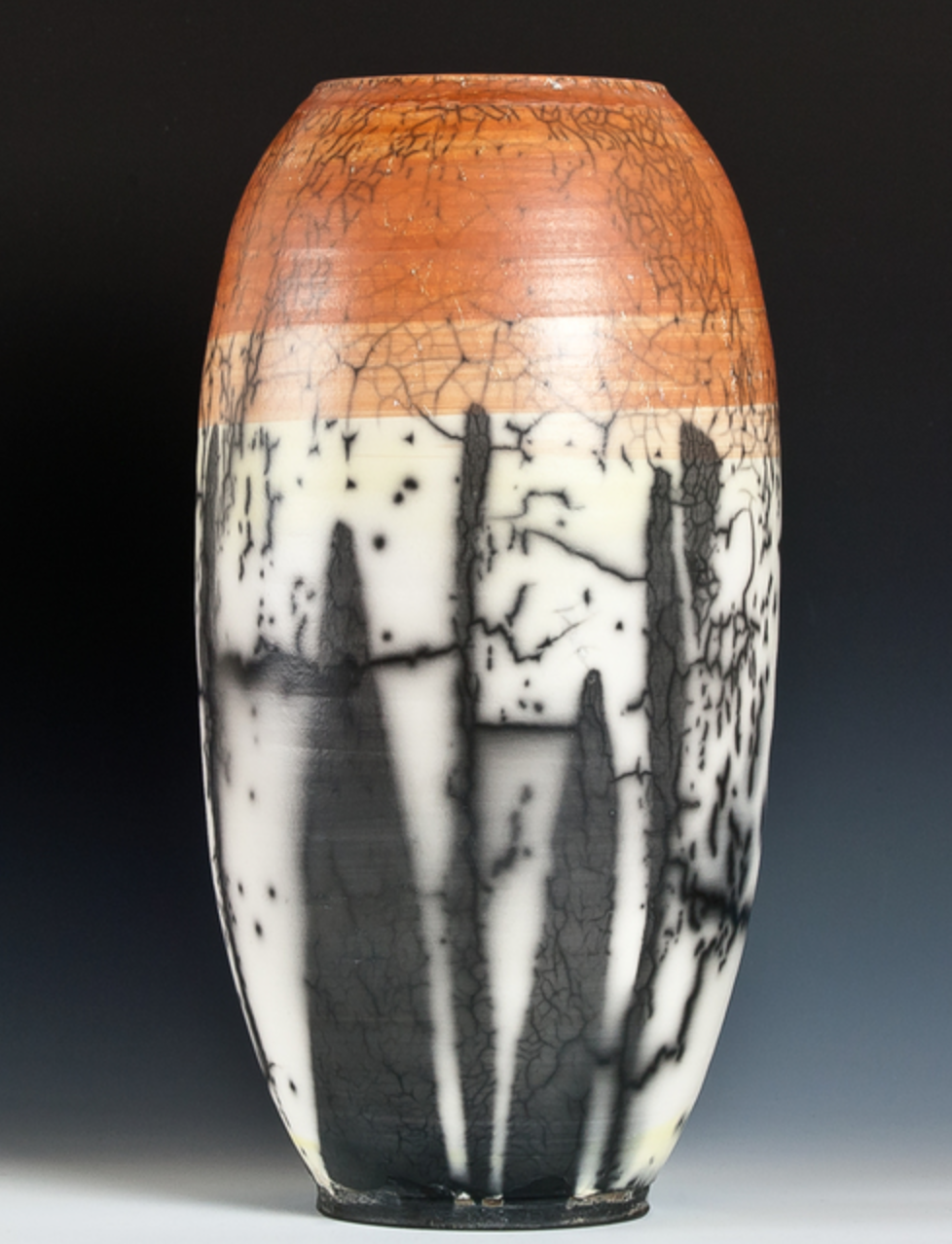 Frank Nemick - Large Raku and stoneware vessels of my own making and glazing. I do Naked Raku, Horsehair Raku, & Stoneware firings at my studio in the Wet Mountains of Southern Colorado. Also medium and small pots.