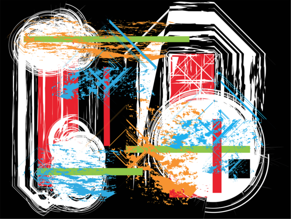 Cate Curtis - http://catesartwork.comThese images were created in Adobe Illustrator to express and represent the emotion of a past place, time, or event through the interplay of patterns, shapes, lines, and colors.