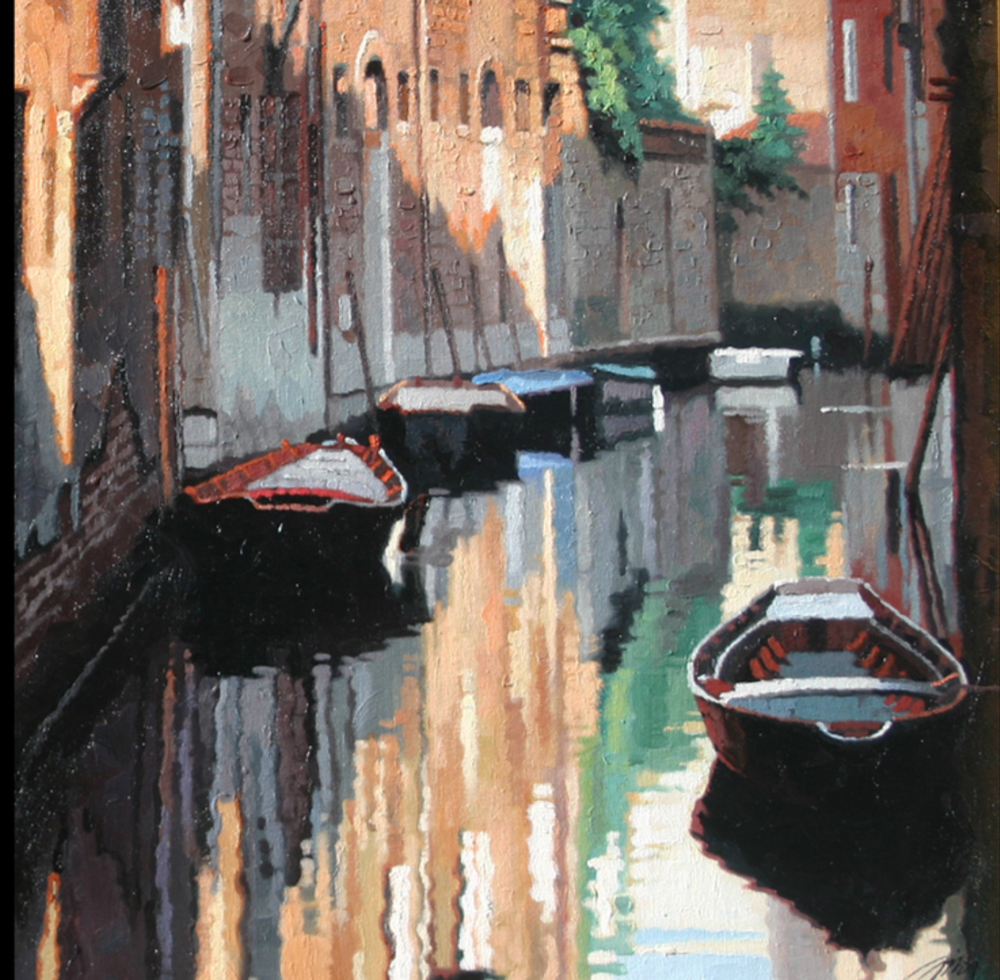 Jie Zhou - Oil on canvas