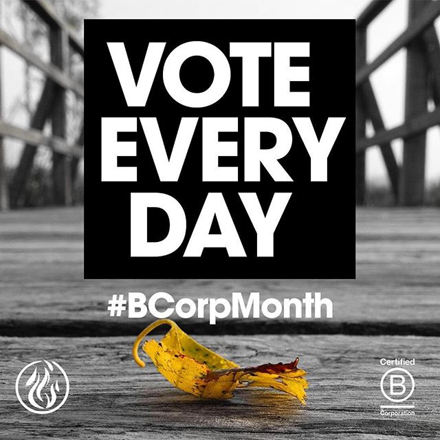 March is #BCorpMonth! This cutting edge community of companies are revolutionizing the world of #ethical business and #sustainability. We're proud to be a longstanding member and we urge everyone to #VoteEveryDay by choosing to work with and buy from @bcorporation businesses. Your voice matters. Disrupt the status quo. .⠀ .⠀ .⠀ .⠀ .⠀ .⠀ .⠀ #justgoshoot #peoplescreatives #sustainability #environment #innovation #climatechange #business #economy #calledtobecreative #entreprenuerspirit #stayandwander #change #mountains #imaginebetter #preserve #profitredefined #travel #inspire #agency #ourplanetdaily #liveauthentic #theoutbound #exploretocreate #lifeofadventure #roamtheplanet #modernoutdoors #bcorp