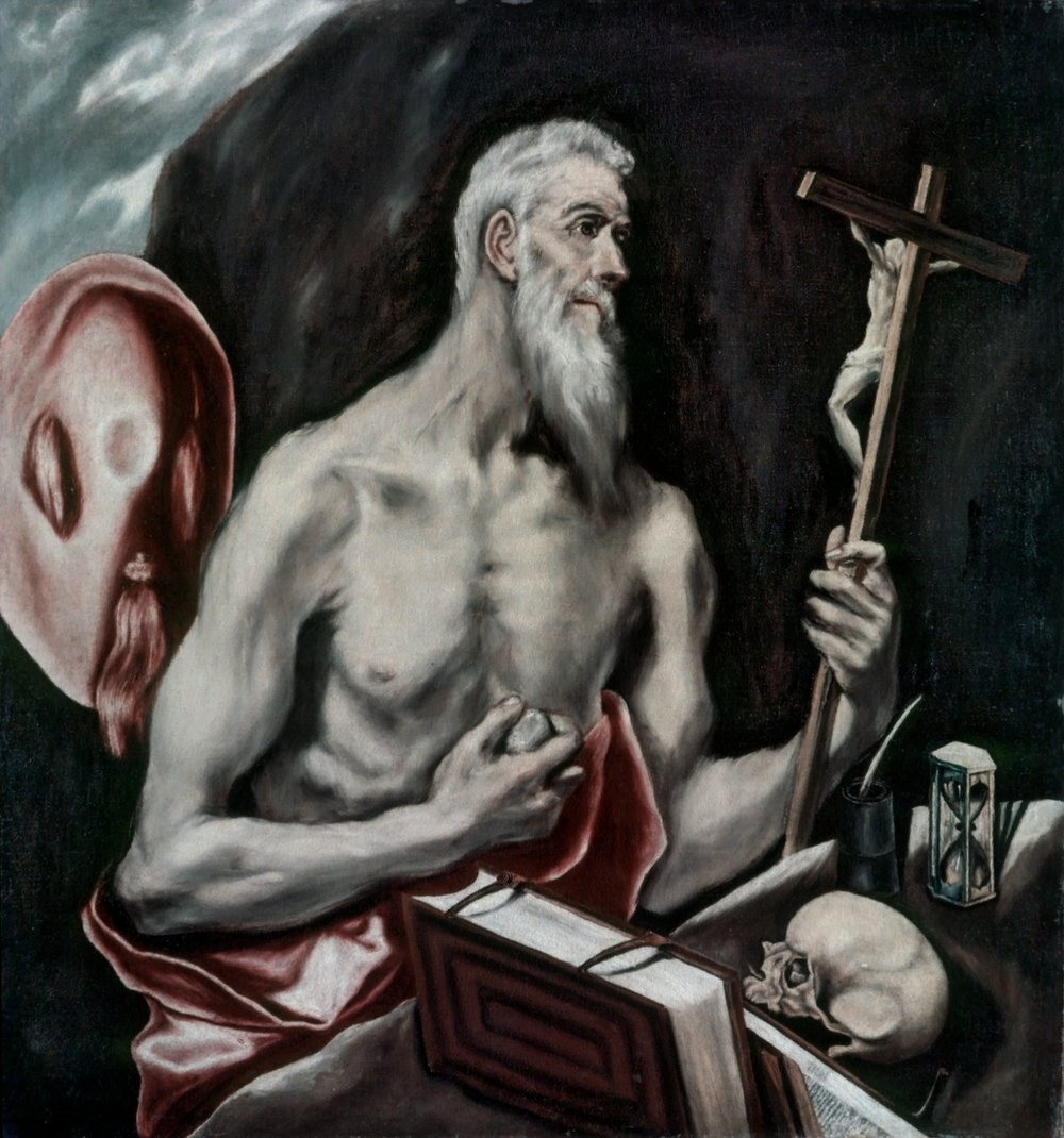 St. Jerome by El Greco -
