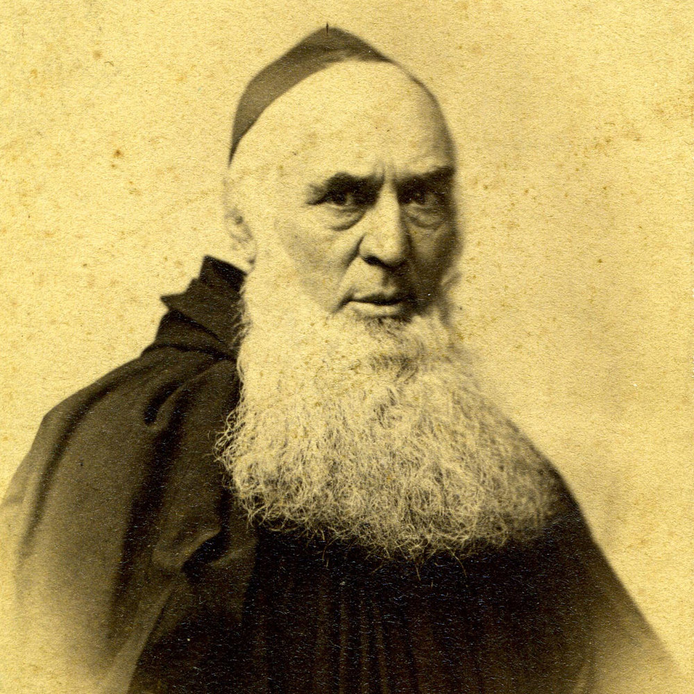 1855 A.D. •••••••••••• FR. HENRY LEMKE - At the urging of a friend, Fr. Henry Lemke traveled to Kansas in 1855. Seeing the desperate need for priests in the area, he urged Archabbot Boniface Wimmer to send more monks and establish a monastery in Kansas.
