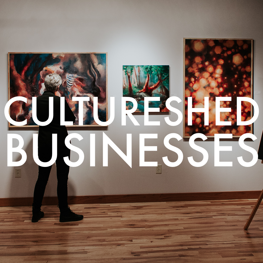 Expanding? Redecorating? Your business can grow the local creative economy by choosing to purchase local art for your facilities. Click  here  for access to local curatorial services and join this exciting movement!