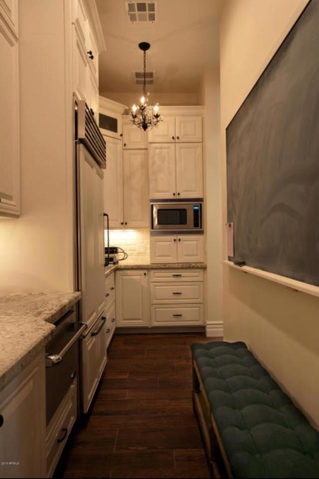 walk-through pantry
