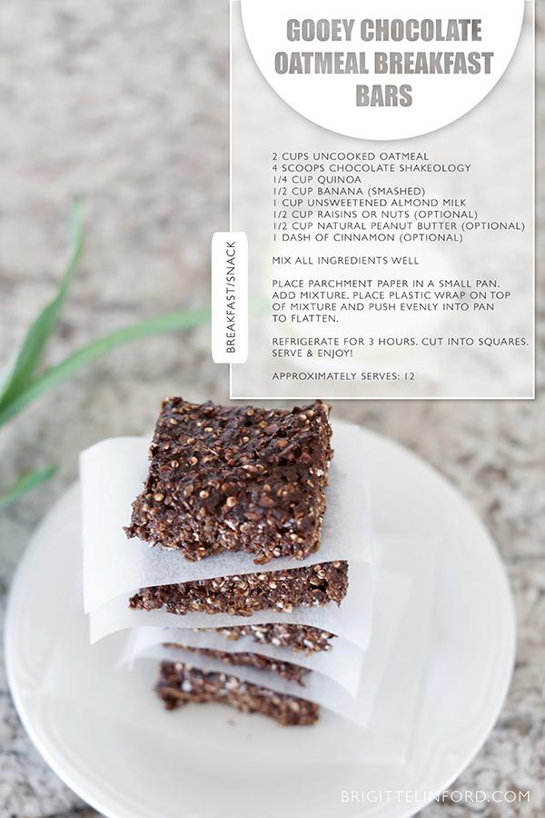 HEALTHY CHOCOLATE BREAKFAST BARS