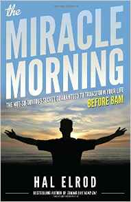 amazing book to totally get the best out of your life! the miracle morning by hal elrod