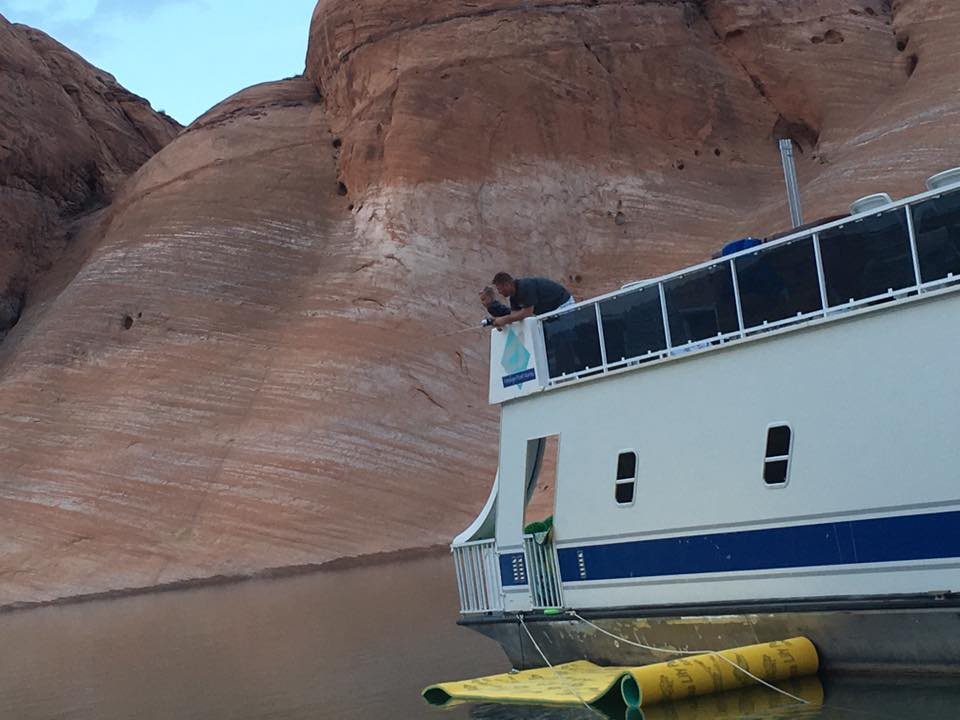 FAMILY VACATION TO LAKE POWELL