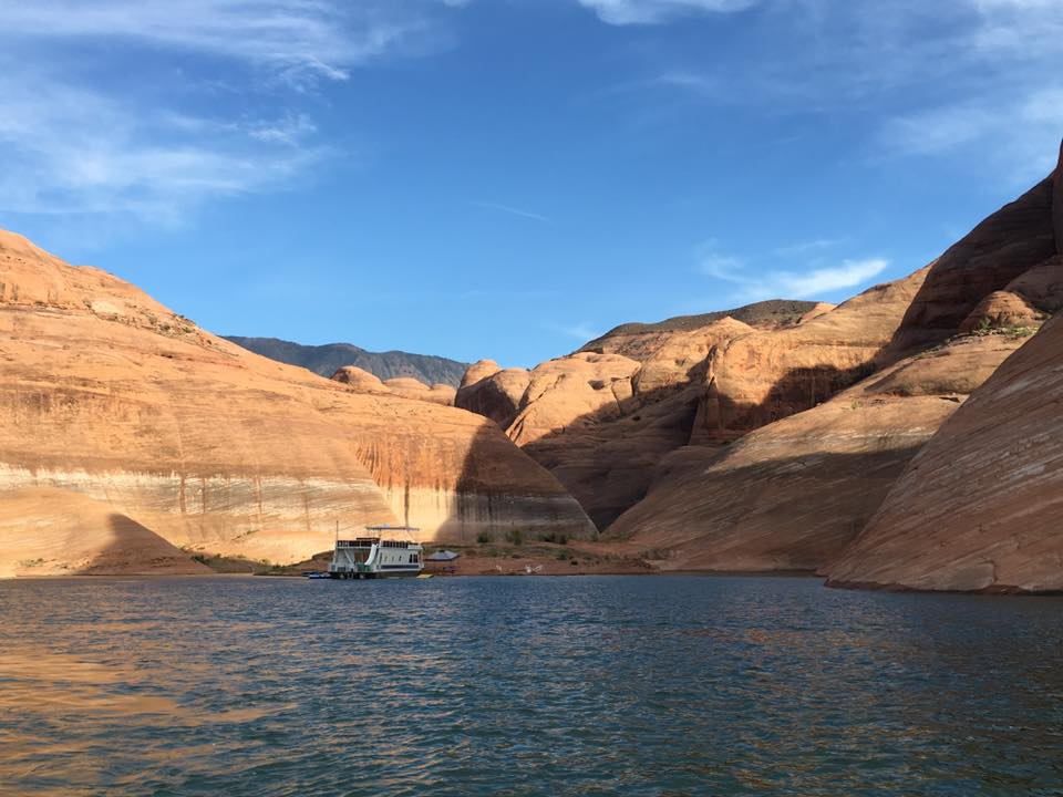 BEAUTIFUL WATERS OF LAKE POWELL