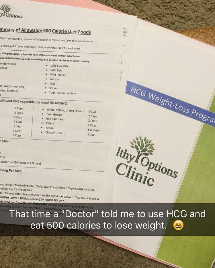 what I DID TO LOOSE WEIGHT INSTEAD of the HCG diet...