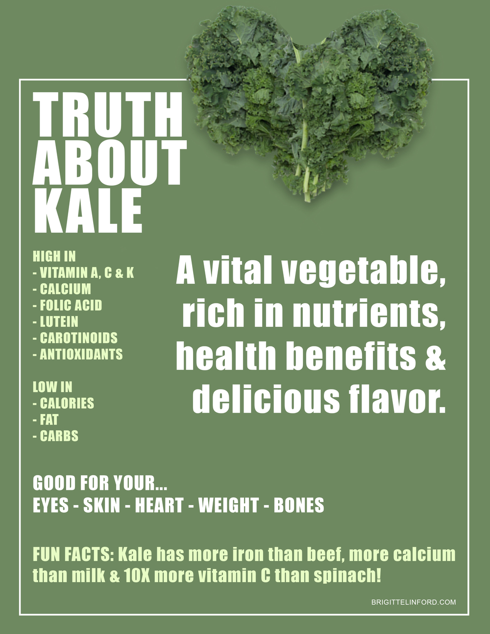 TRUTH ABOUT KALE, WHY IS IT HEALTHY FOR YOU