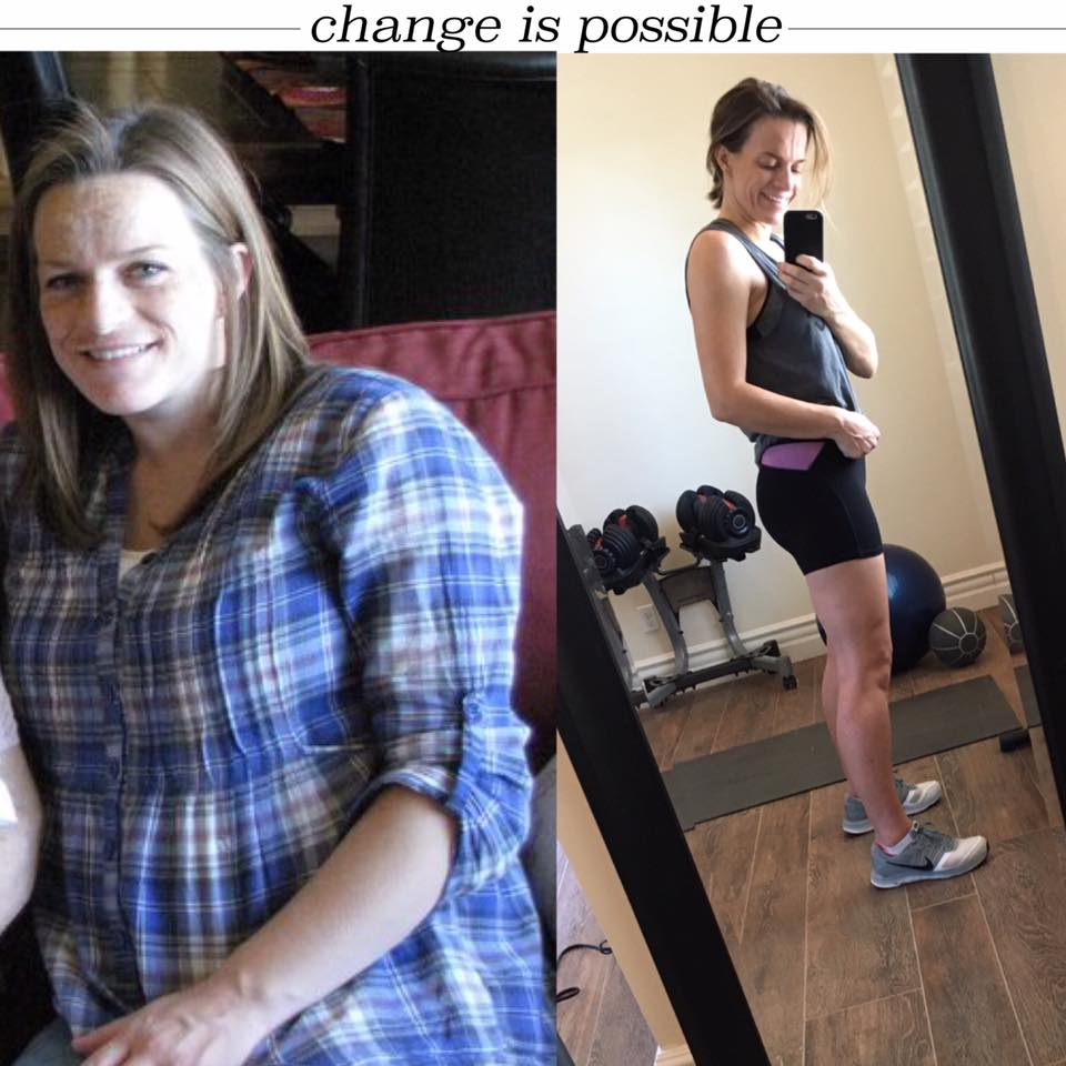 LOOSE THE BABY WEIGHT ONCE AND FOR ALL, YOU CAN CHANGE!