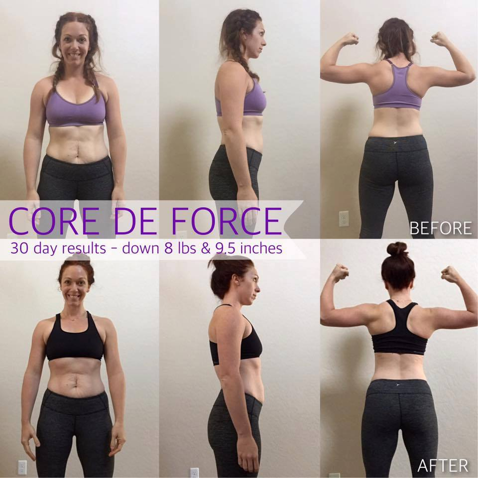 CORE DE FORCE 30 day TRANSFORMATION