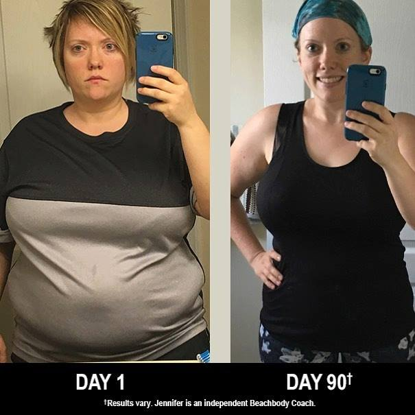 TurboFire and Shakeology weight loss transformation