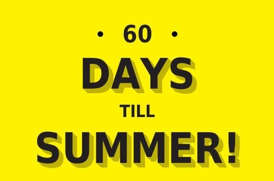 60 days till summer slimdown