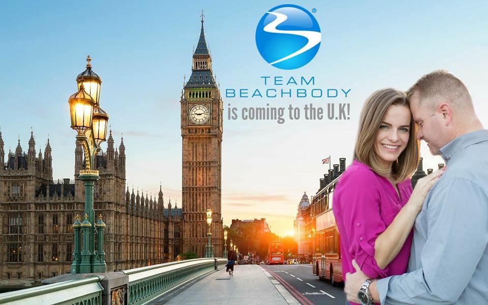 BEACHBODY IS COMING TO THE UK!