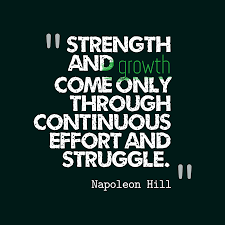 STRENGTH AND GROWTH-NAPOLEON HILL