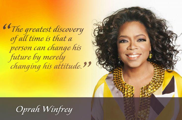 oprah winfrey change your attitude