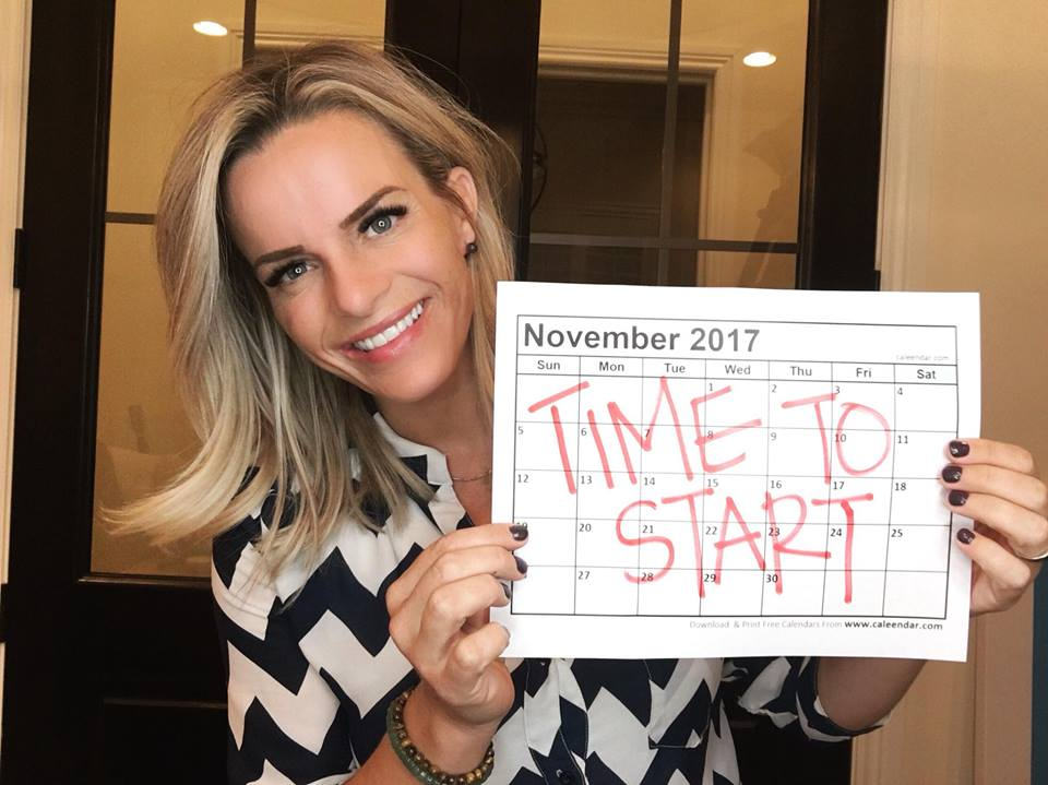 THE TIME TO START IS NOW!