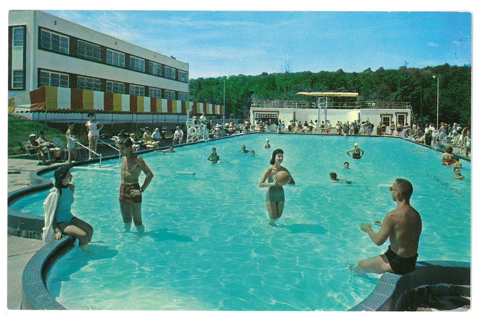 Outdoor Pool, Shenk's, Monticello, NY