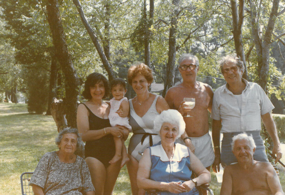 Family and Friends, Rosmarin's Bungalow Colony, Monroe, NY