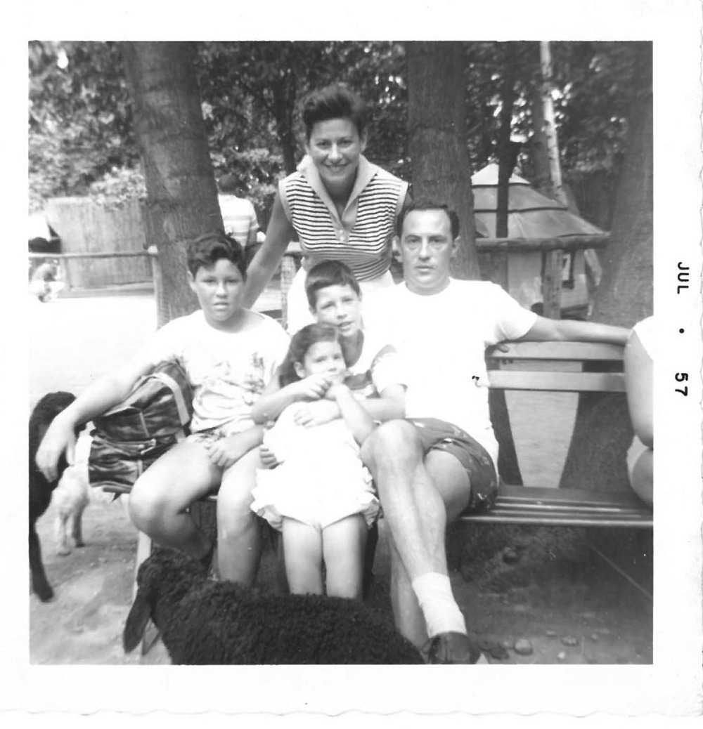 Author's mom's family, Wawarsing, NY