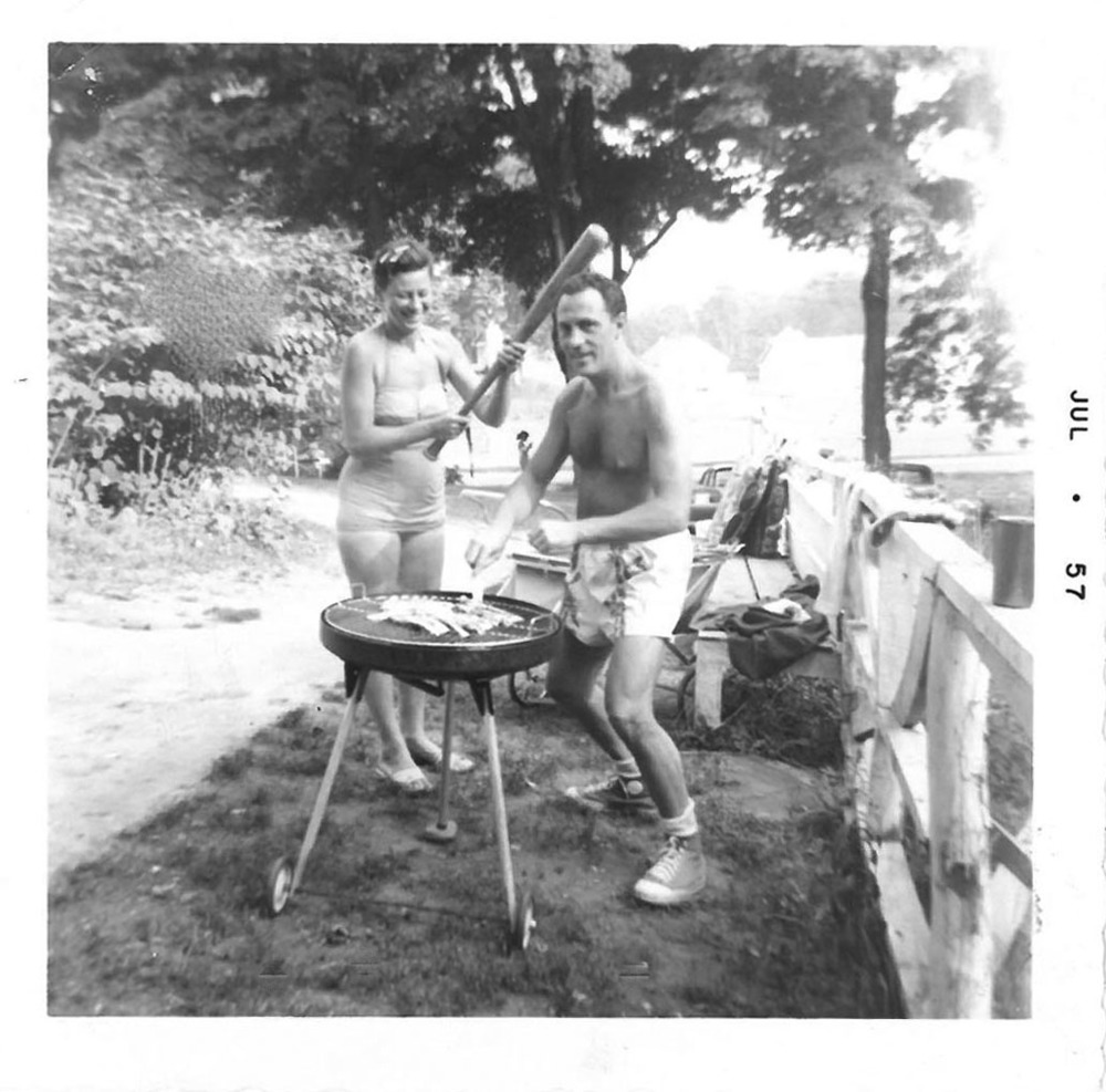 Author's Grandparents, Wawarsing, NY