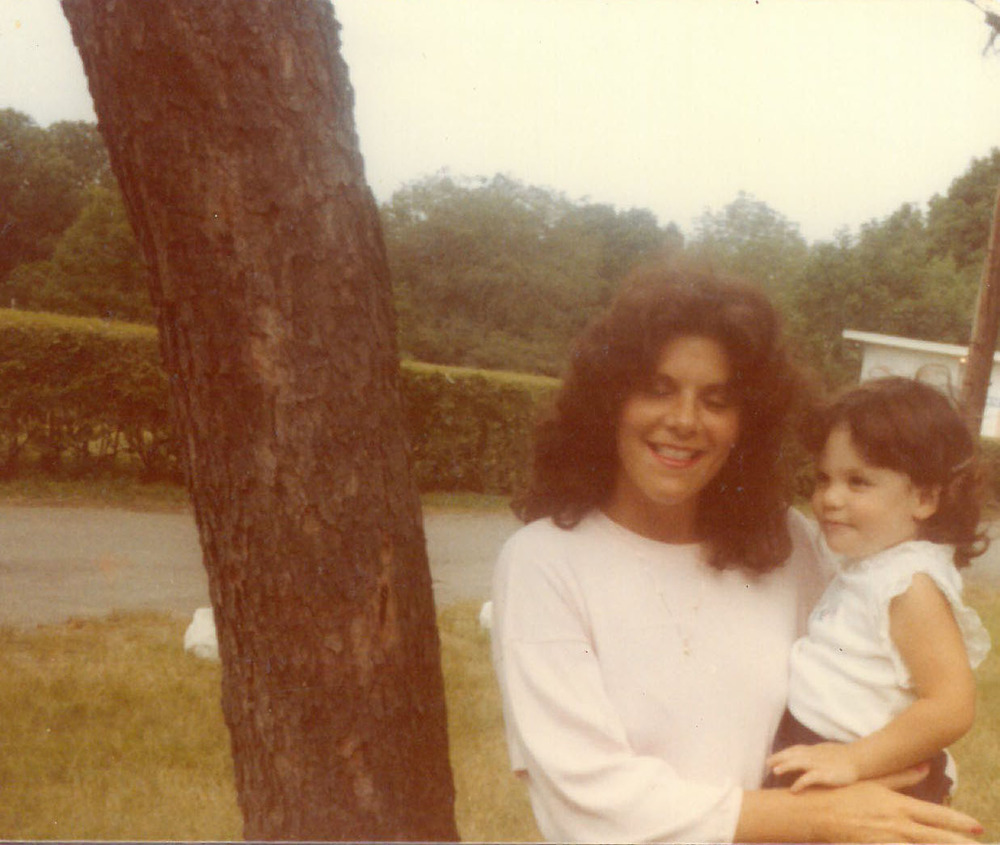 Author and mother, Monroe, NY