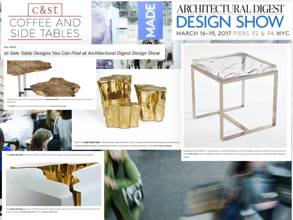 We're such fans of the other table designers in the article. Sharing a few favourites from the amazing Boca do Lobo!