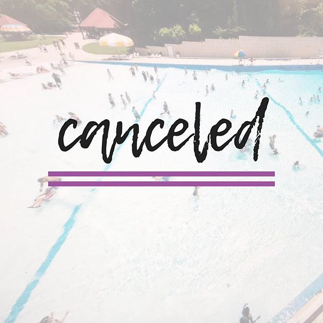 Due to weather and Lanier World's storm policy, we are canceling our trip to Lanier today.