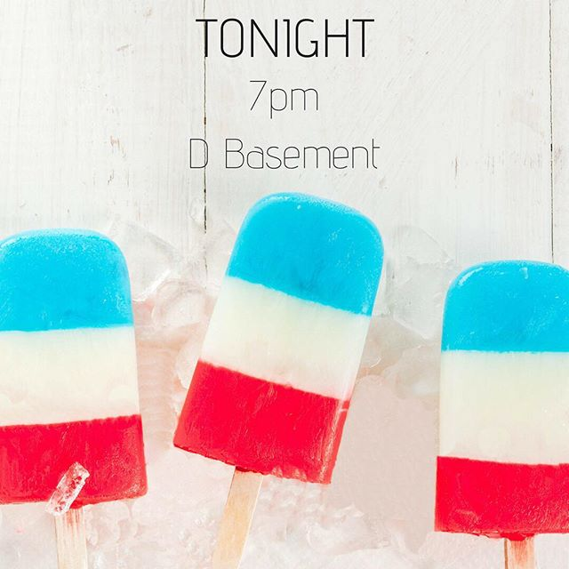 Hey, high school! Tonight at 7pm we're having snacks, popsicles, FIREWORKS, and a message from Ben Grimsley! Meet us in the D Basement. #christplacechurch #christplacestudents