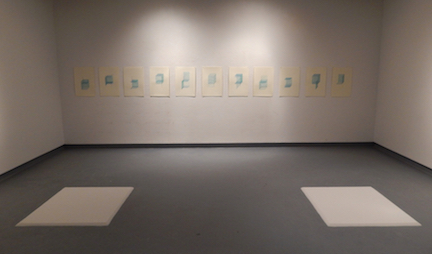 Recollection Lost  (gallery view) , 2015,screen prints, sugar