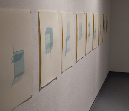Recollection Lost  (gallery view) , 2015,screen prints