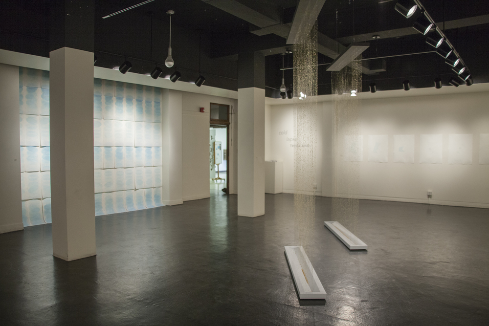 cold lapse  (installation view), 2016, Gallery of Visual Arts, University of Montana