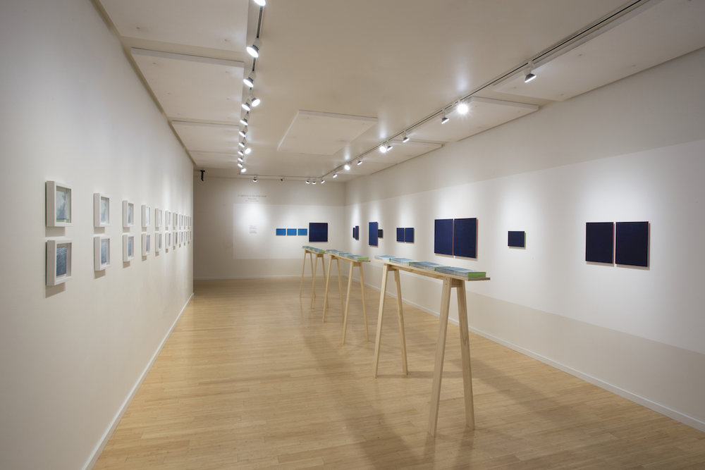 gallery view, Lawrence Arts Center, Lawrence, KS, 2017